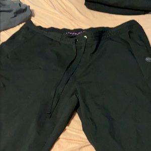 Healing Hands Purple label 2XP scrub pants